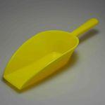 Mehlschaufel aus Kunststoff 31 cm - gelb