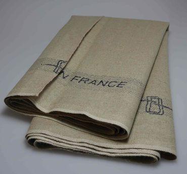 Französisches Teigtuch - Abdecktuch 50cm x 60cm