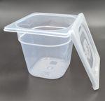 Teigbehälter, klein für Vorteige... 001