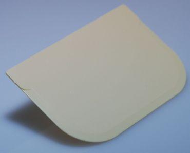 Teigschaber - Teigkarte eckig