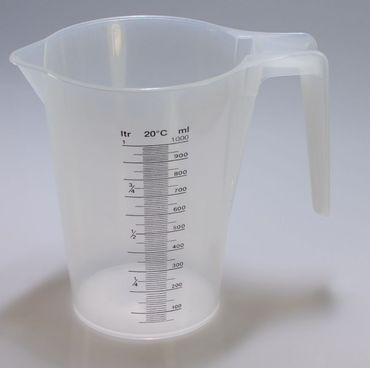 Messbecher aus Kunststoff 1L