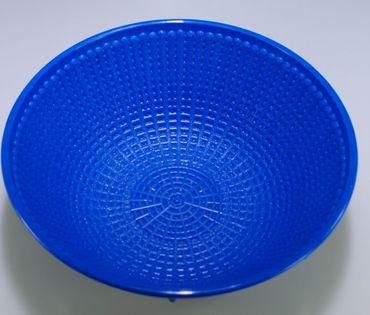 Gärkorb rund Kunststoff, blau