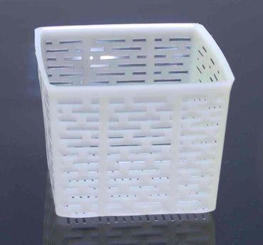 Käseform/-sieb Quadrat