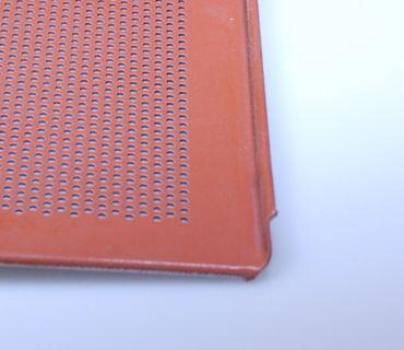 Lochblech aus Alu - silikonisiert