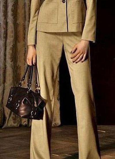 Elegante Hose, camel