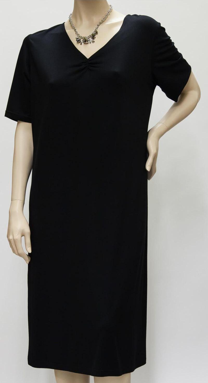 Figurumspielendes Kleid, Businesskleid - schwarz