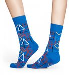 Happy Socks - Socken - Geometric Socks, blau / bunt - GEO01-6000