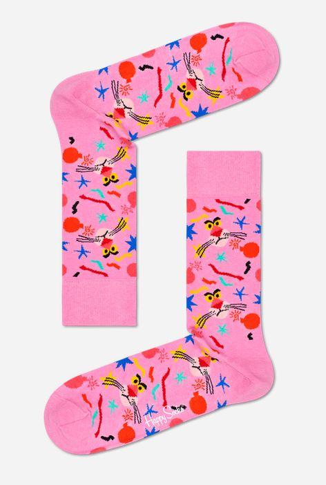 Happy Socks - 3er Pack Gift Box, Geschenkbox - Pink Panther - rosa / bunt - XPAN08-9300