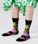 Happy Socks - Socken - SpongeBob - Bubble In Paradise Sock, Blasen - schwarz / bunt - BOB01-9300