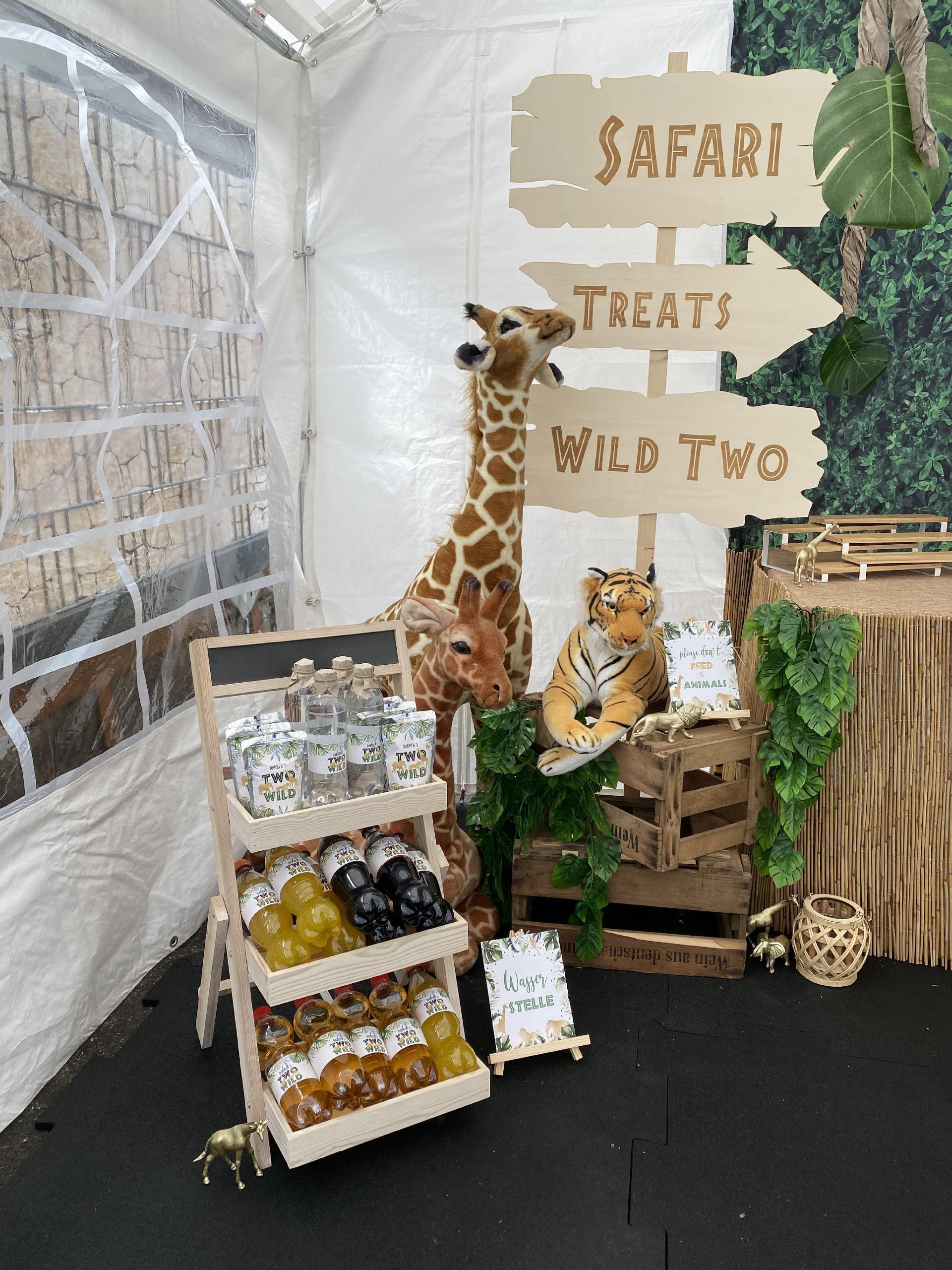 Safari Holzschilder 1