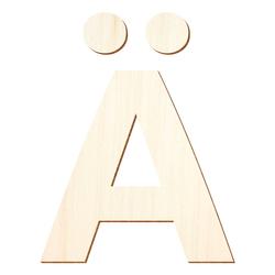 Holz Buchstaben - Ubuntu - Wunschtext/Schriftzug mit Größenauswahl – Bild 3