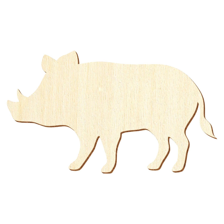 3-50cm Breite Basteln Deko Laufende Holz Katze