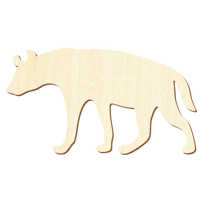 Fuchs aus Holz 7,5 x 12 cm Deko Bastel Zubehör Deko Bastelmaterial Bastelholz