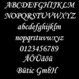Plexiglas® Buchstaben weiß - MT - 3mm Acrylglas Wunschtext/Schriftzug