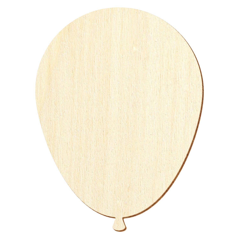 Holz Luftballon - Deko Basteln 3-50cm