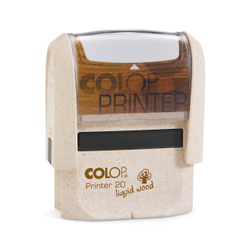 COLOP Liquid Wood Printer stamp with and without individual laser engraved inscription - in different sizes