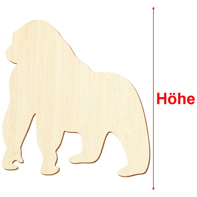 Holz Border Collie Deko Basteln 3-50cm