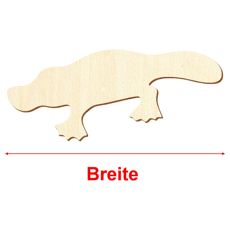 Deko Basteln 3-50cm Holz Kaiserpinguin