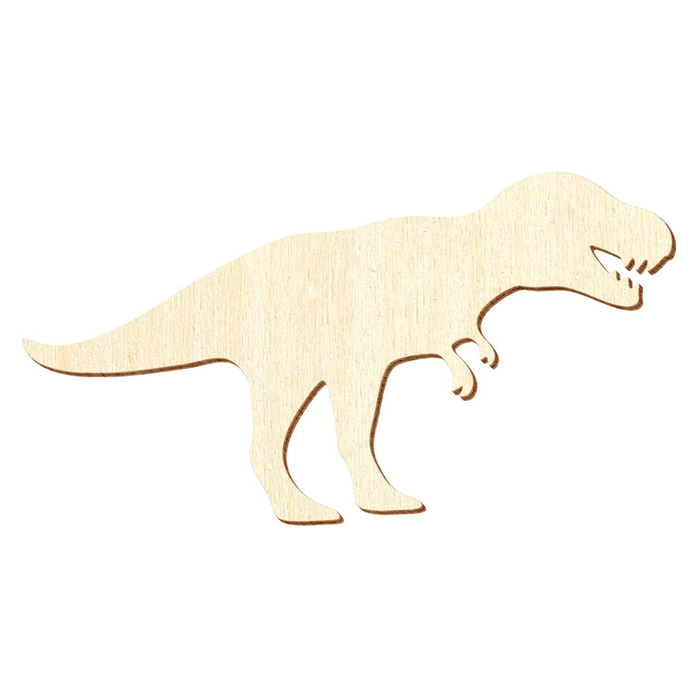 Holz T-Rex - Deko Basteln 3-50cm