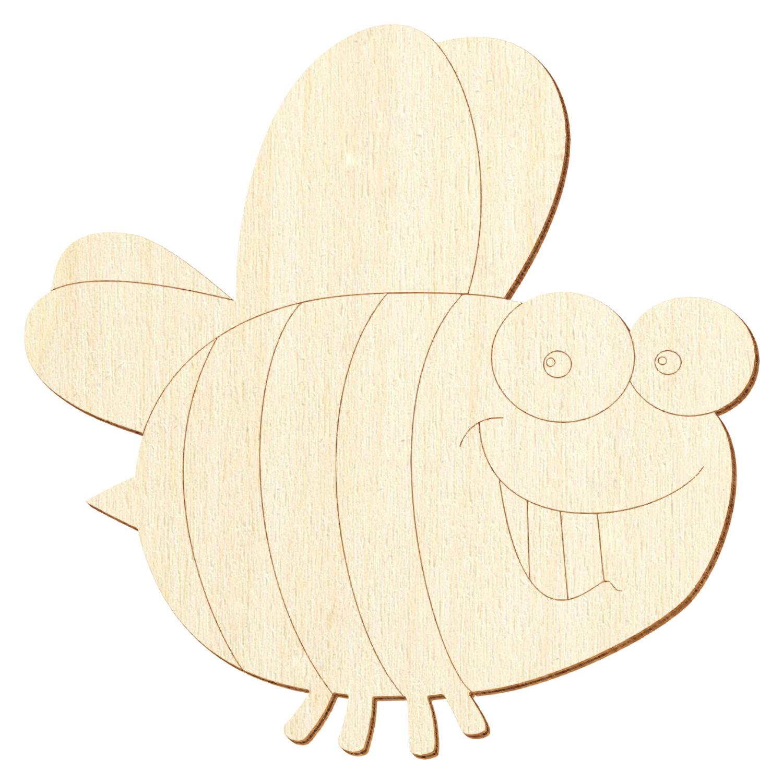 Holz Biene V5 - Deko Basteln 5-50cm