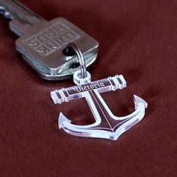 Acrylglas Liebes-Anhänger individuell graviert Namensschilder Schlüsselanhänger – Bild 8