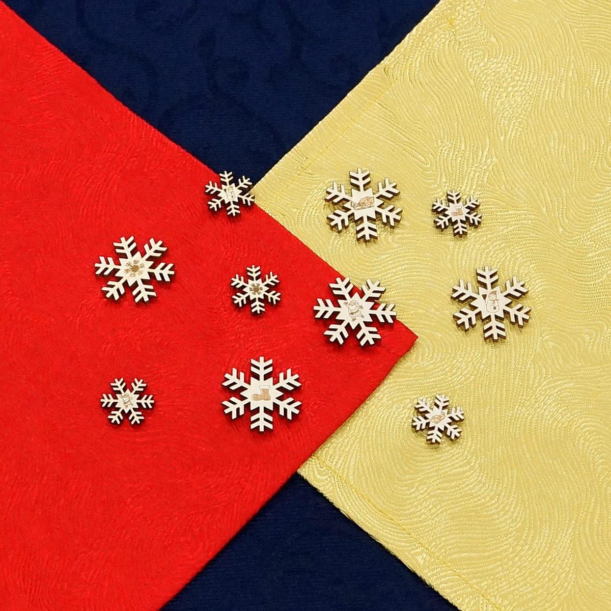 Sperrholz streudeko sets weihnachten wurfdeko for Dekoration wohnung weihnachten