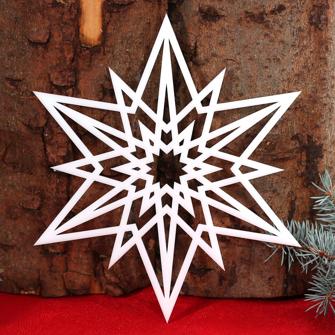 Stern Fensterbilder   Deko Aus Holz Und Acrylglas Für Weihnachten U2013 Bild 3