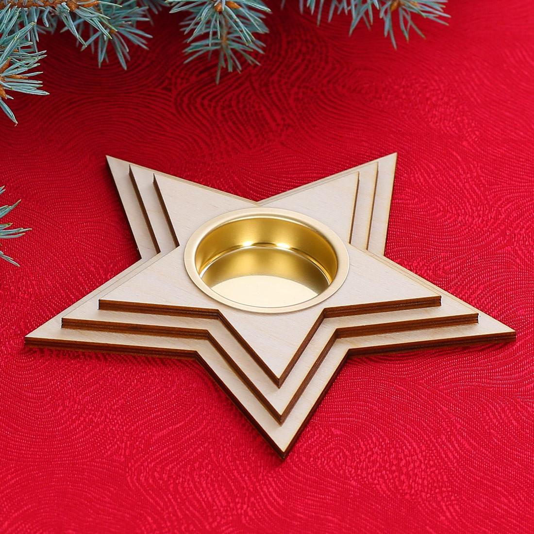 Kerzenhalter Weihnachten.Motiv Teelichthalter Kerzenhalter Dekoration Aus Holz Für Weihnachten Bütic Gmbh Wie Für Dich Gemacht Dekoration Aus Holz Und Plexiglas