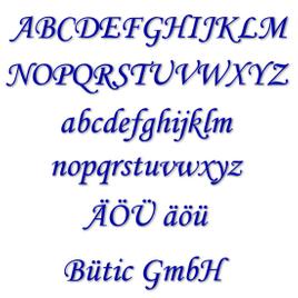 Plexiglas Buchstaben dunkelblau - MT - 3mm Acrylglas Wunschtext/Schriftzug - Größenauswahl