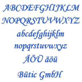 Plexiglas Buchstaben hellblau - MT - 3mm Acrylglas Wunschtext/Schriftzug - Größenauswahl