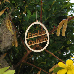 Easter decorations Easter decorations Tree decorations and shrubs - Decoration of wood for Easter