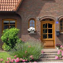Plexiglas® Retro Hausnummernschilder - Wunschzahl + optional mit Straße – Bild 2