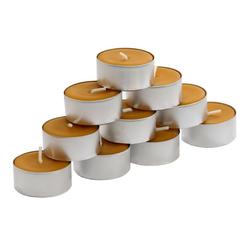 Bienenwachs Teelichter mit 100% natürlichem Bienenwachsduft – Bild 2