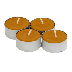 Nature Pure organic beeswax tea lights 100% pure and natural
