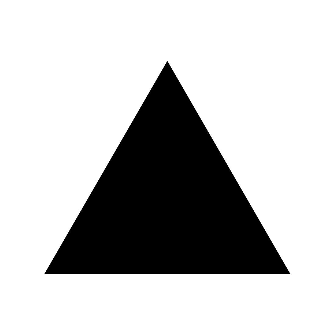 Plexiglas® Zuschnitte - gleichseitige Dreiecke - Acrylglas 3mm glänzend