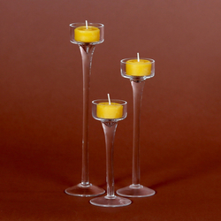 Tealight candle holder, tealight holder, tealight holder, candlelight holder in round - 45mm