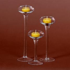 Teelicht-Kerzenständer, Teelichthalter, Teelichtständer, Kerzenlichthalter in oval - 45mm