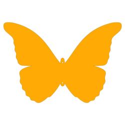 Plexiglas® Zuschnitt Acryl Schmetterling Wanddeko in verschied. Farben u. Größen – Bild 5