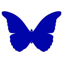 Plexiglas® Zuschnitt Acryl Schmetterling Wanddeko in verschied. Farben u. Größen – Bild 10