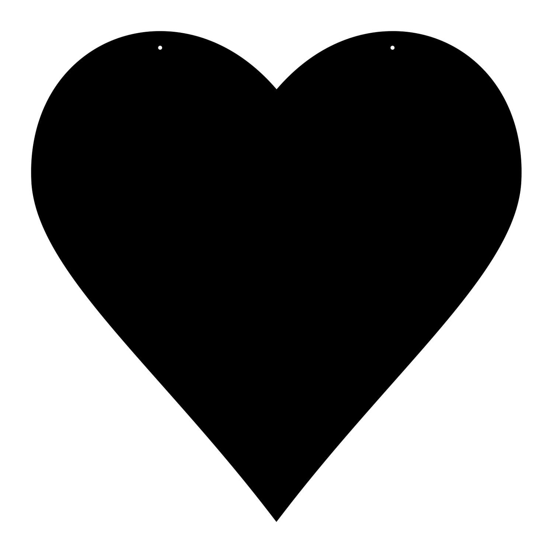 Plexiglas® Zuschnitt Acryl Herz Wanddeko in verschiedenen Farben und Größen