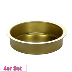 Candlestick brass 60mm - Candle holder for standard candles, pillar candles