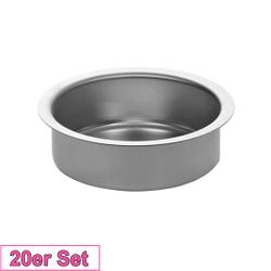 Kerzenhalter Silber 51mm - Kerzen Tülle für Standard Kerzen, Stumpenkerzen – Bild 3