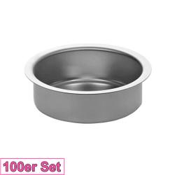 Kerzenhalter Silber 51mm - Kerzen Tülle für Standard Kerzen, Stumpenkerzen – Bild 8
