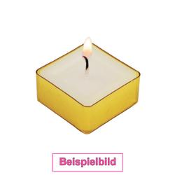 viereckige Kunststoff Teelichthüllen 39x39mm - Kerzengießen Viereckform – Bild 2