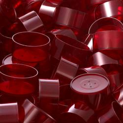runde Kunststoff Teelichthüllen 37x19mm - Kerzengießen klassische Rundform – Bild 14