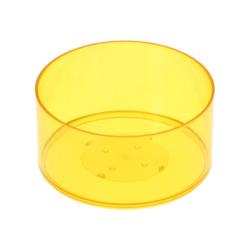 runde Kunststoff Teelichthüllen 37x19mm - Kerzengießen klassische Rundform