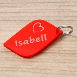 Plexiglas® farbige Liebes-Anhänger Acrylglas Schlüsselanhänger mit Wunschgravur – Bild 19