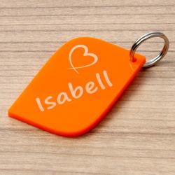 Plexiglas® farbige Liebes-Anhänger Acrylglas Schlüsselanhänger mit Wunschgravur – Bild 20