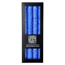 4er Pack durchgefärbte Stabkerzen 250mm x 22mm - rußarme Stearin-Kerzen – Bild 17