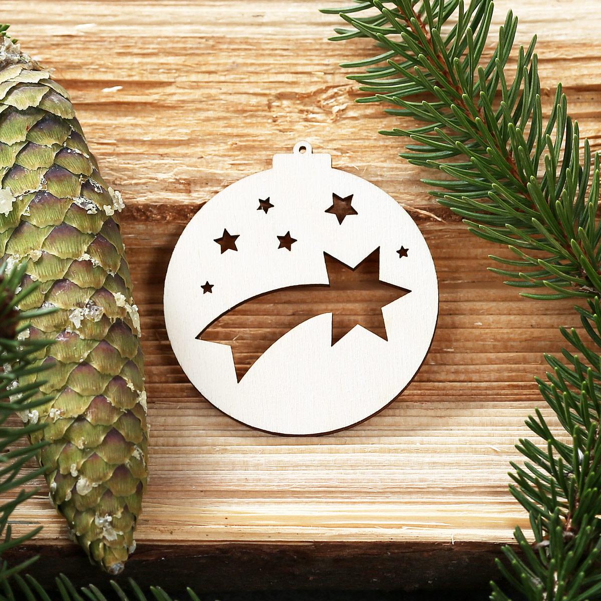 Erstaunlich Baumkugeln Mit Weihnachtsmotiven   Baumschmuck, Baumbehang   Deko Aus Holz  U2013 Bild 13